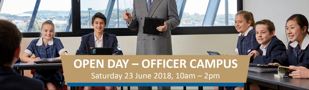 Officer Campus Open Day