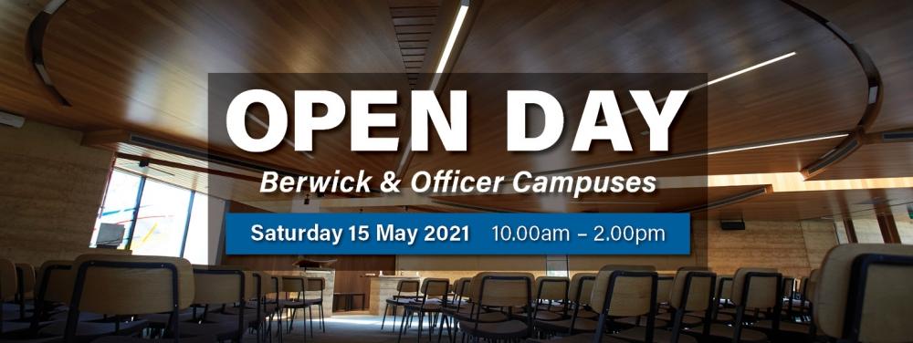 Berwick & Officer Open Day